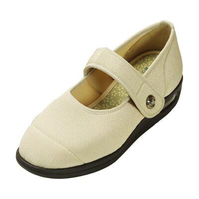マリアンヌ製靴 彩彩~ちりめん~ W1101 ベージュ 24.5cm