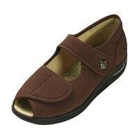 マリアンヌ製靴 彩彩~ちりめん~ W1103 ブラウン 23.5cm