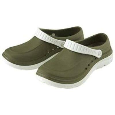 マリアンヌ製靴 ニューコンフォート 可動式ベルト 帯電防止 No.5050 LL 25.0~25.5cm オリーブカーキ 1037454