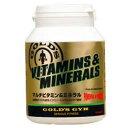 ゴールドジム マルチビタミン&ミネラル G2520(360粒)