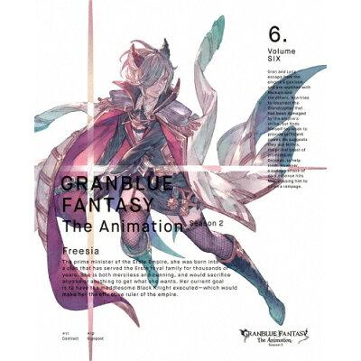 GRANBLUE FANTASY The Animation Season2 6(完全生産限定版)/DVD/ANZB-14811