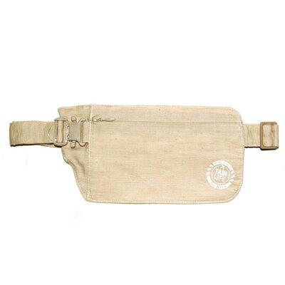 ヴァリュウ物産 タビライフ 旅貴重品袋 ウエストタイプ ベージュ