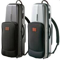 高級テナーサックスハードケース GL CASES(GLケース) ビッグベルにも対応! 3種のポケット付き!GLK-T