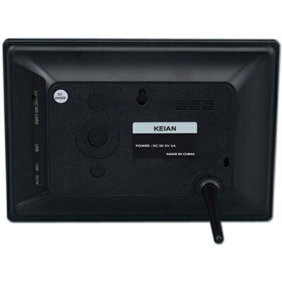 KDI72ERB 恵安 7インチワイド デジタルフォトフレーム ブラック