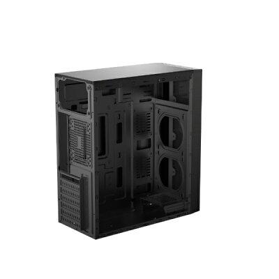 KEIAN 恵安 ゲーミングPCケース Graxia ブラック GX-PCM-RGB