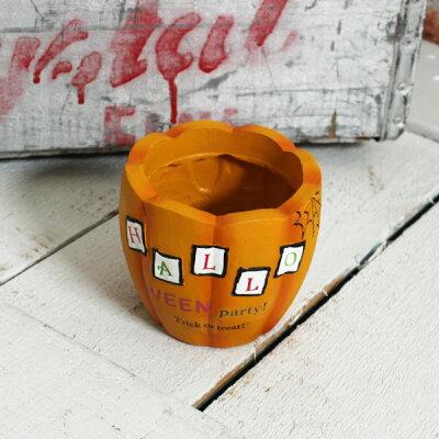 インテリア&ガーデニング雑貨 ハロウィン ポティロンカードポットS 植木鉢カバー