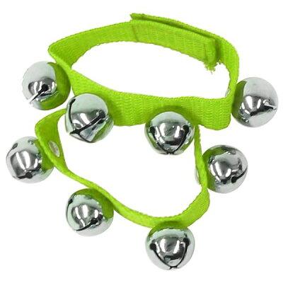 Kyoritsu キョーリツ リストベル Wrist Ring Bells 1組 グリーン D-RB01 GR