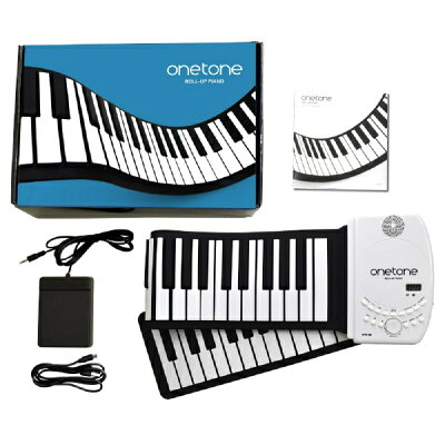 onetone 88鍵盤ロールアップピアノ OTR-88