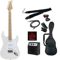 Photogenic ST-180M/WH/初心者入門セット エレキギター ライトセット