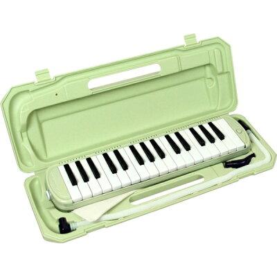 KC P3001-32K/UGR ライトグリーン 鍵盤ハーモニカ