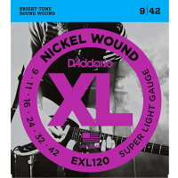 D'Addario / EXL120 Super Light .009.042 ダダリオ エレキギター弦