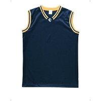 CONVERSE/コンバース ウィメンズゲームシャツCB36713 ネイビー×ゴールド