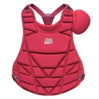 Z-BLP7260A-6400 ゼット 少年軟式野球用プロテクター レッド ZETT ZBLP7260A6400