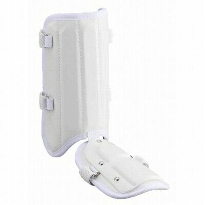 Z-BLL26-1100 ゼット 打者用レッグガード 左右兼用 ホワイト ZETT ZBLL261100