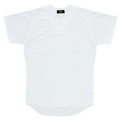 ゼット ZETT ユニフォームシャツ プルオーバー Z BU1073 1100 ホワイト