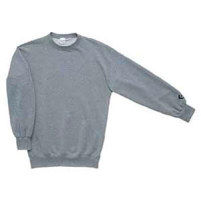 コンバース CONVERSE クルーネックスウェットシャツ CB141201E グレーモク