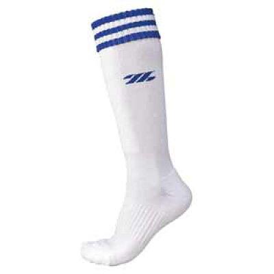 ゼット ZETT ソフトボール用機能パイルソックス Lサイズ 25~27cm Z BK1370LA 1125 ホワイト/Rブルー 2527