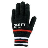 ZETT/ゼット ジュニア用ニット手袋 展示会 防寒グッズ 手袋 少年用 ZETT