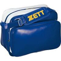 ZETT(ゼット) セカンドバッグ ショルダータイプ(小型) BA566 (カラー)ブロンズブルー×ホワイト (サイズ)