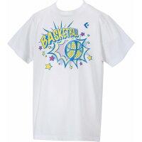 CONVERSE CB461303 ジュニア プリントTシャツ バスケットウェア ホワイト