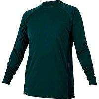 ゼット ローネックナガソデアンダーシャツ BO8710 色 : グリーン サイズ : XO