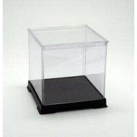 【透明プラ】コレクションケースフィギュアケース人形ケース W 21×D 21×H 21(cm)
