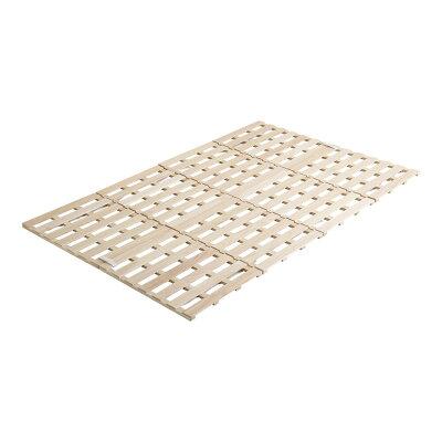 Sすのこベッド 4つ折り式 桐仕様セミダブルSommeil-ソメイユ- ベッド