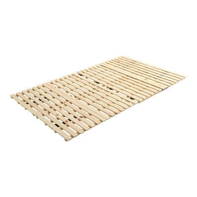 すのこベッド二つ折り式 檜仕様セミダブル涼風き