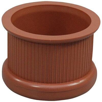 TRUSCO トラスコ中山 工業用品 光 イス脚キャップ 茶丸36