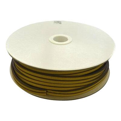 M型戸当テープ 茶 4×9 50m巻 KM4-50W 03105008-001
