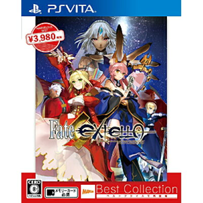 Fate/EXTELLA(フェイト/エクステラ)(Best Collection)/Vita/VLJM38067/C 15才以上対象