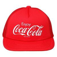Coca-Cola コカ コーラ グッズ  メッシュキャップ Enjoy Coca-Cola レッド