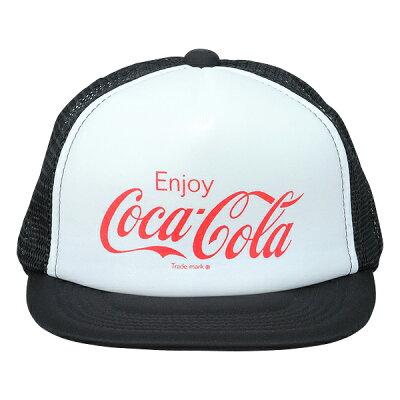 Coca-Cola コカ コーラ グッズ  メッシュキャップ Enjoy Coca-Cola ホワイ