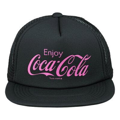 Coca-Cola  コカ  コーラ グッズ メッシュキャップ Enjoy Coca-Cola ブラック