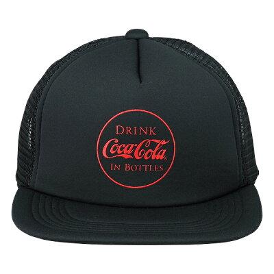 Coca-Cola コカ コーラ メッシュキャップ IN BOTTLES ブラック