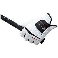 LEZAX/レザックス GUGL-5651 Golf U.S.A 合成皮革グローブ ホワイト