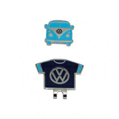 VWAC-9508-LBLNV フォルクスワーゲン クリップマーカー ライトブルー×ネイビー Volkswagen