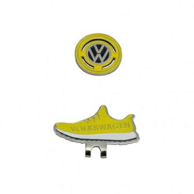 VWAC-9509-NVYE フォルクスワーゲン クリップマーカー ネイビー×イエロー Volkswagen