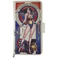 DC Comics iPhone ユニバーサルフリップカバー M ワンダーウーマン DCH-02A グルマンディーズ