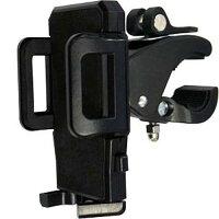 Tough Gear スマートフォン マウントホルダー フレキシブル スマホ ハンドル固定式ホルダー ブラック 黒