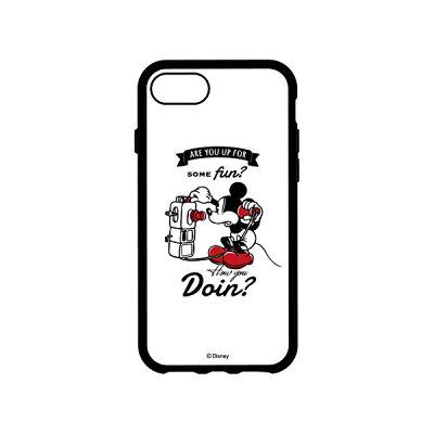 グルマンディーズ iPhone 8 ディズニーキャラクター IIII fit ミッキーマウス DN-464A