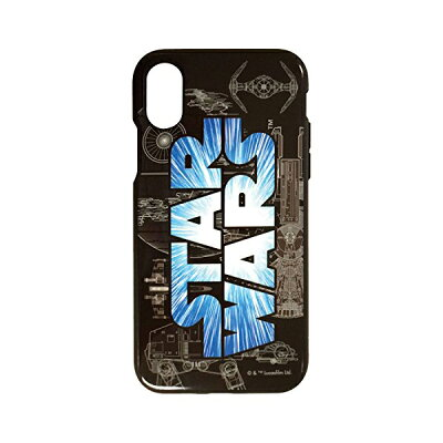 gourmandise STAR WARS iPhoneX対応 イーフィットケース STW-81A