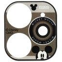 グルマンディーズ gourmandise ディズニー・ピクサーキャラクター iPhone11対応カメラカバー ミッキーマウス DN-676A