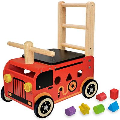 I'm TOY(アイムトイ) ウォーカー&ライド 消防車 IM-87480
