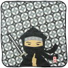 和光 和雑貨 日本タオルはんかち 24×24cm 忍者