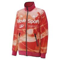 デサント DESCENTE Move Sprot ムーブスポーツ トレーニングジャケット DAT-1254 CORG カメリアオレンジ