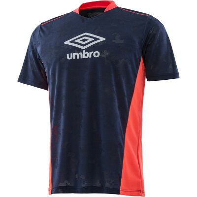 アンブロ サッカーゲームシャツパンツJr.TR ICE BLAST プラクティスシャツ ジュニア サッカーフットサルウェアUUJLJA56ネイビー