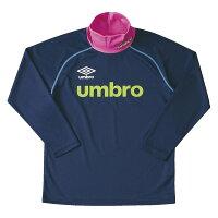 UMBRO JR ネックウォーマー L/Sシャツ DS-UCA7277J-NVY