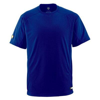 デサント(DESCENTE) 丸首Tシャツ DB200 ロイヤル O