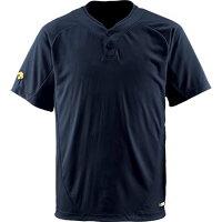 デサント DESCENTE 2ボタンTシャツ BLK DB-201